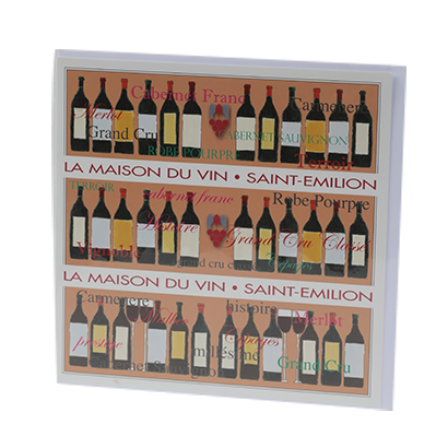 Carte Vintage Maison du Vin de Saint-Emilion